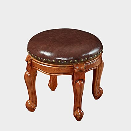 Amazon.com: ZUOANCHEN Footrest Stool PU Footstool Small Ottoman