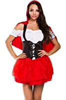 Ninimour Womens French Maid Fancy Costume Dress