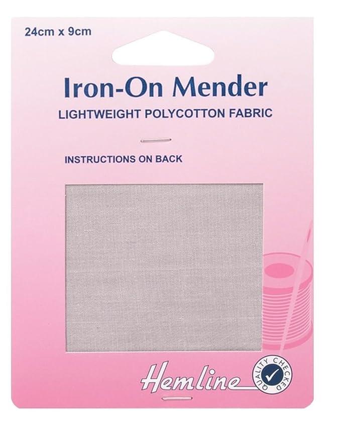 Hemline Polycotton Iron On Repair Mending Fabric H691-M