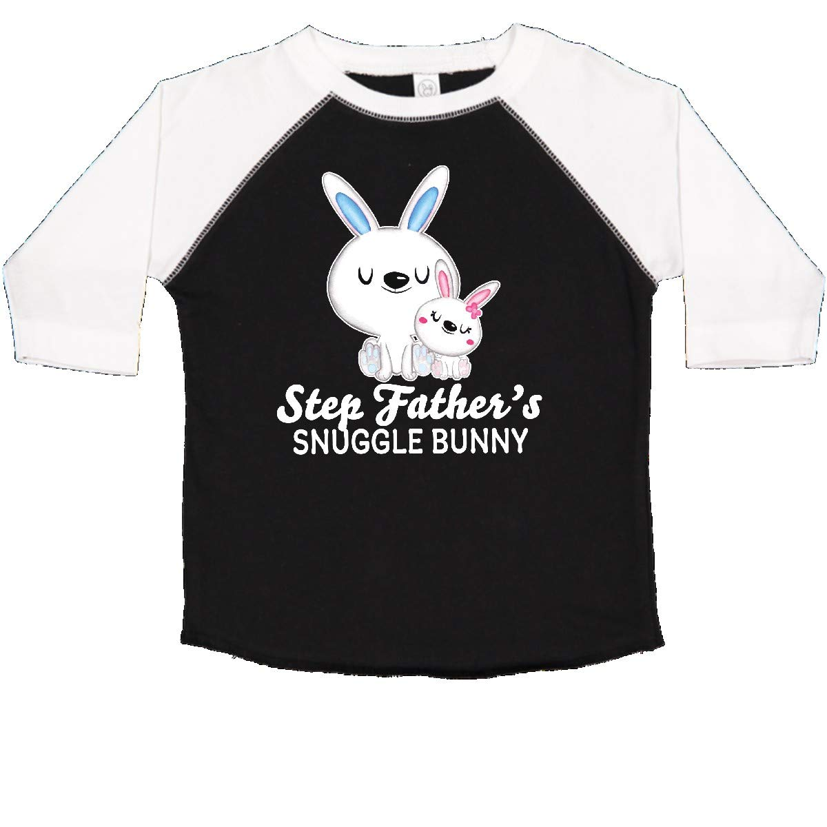 inktastic Step Fathers Snuggle Bunny Easter Toddler T-Shirt