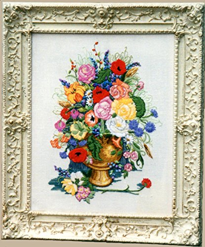 Persian Wool Vase - Floral Concerto