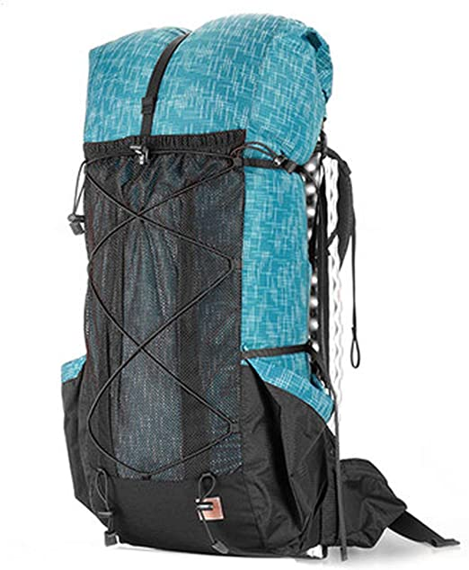 New  Unisex Hiking Camping Backpack Water-resistant Nylon /& Polyester Fabrics