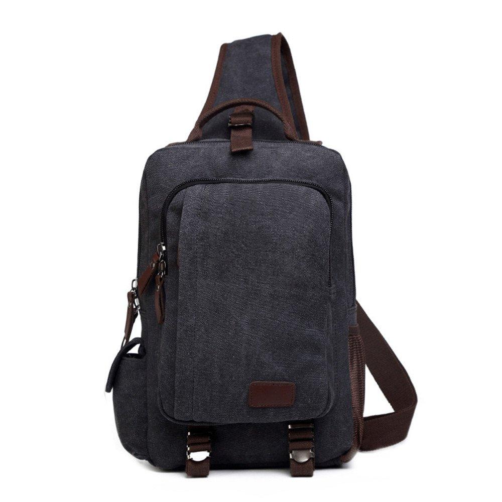 Ybriefbag Outdoor Sports Sling Bag Chest Shoulder Backpack Crossbody Bags for IPad Tablet Outdoor Hiking Men Women Sling Bag Crossbody Backpack for Women Men