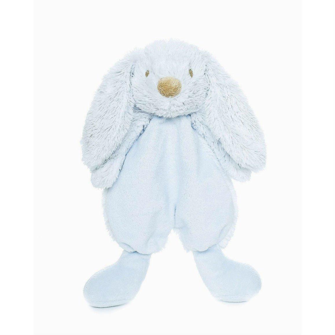 Teddykompaniet - Lolli Bunny - Blue - Baby Comfort Blanket - 26cm 2409