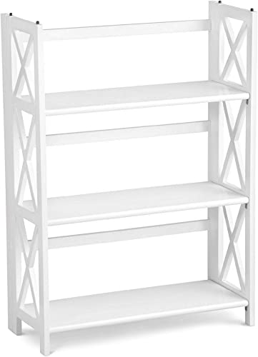 Casual Home Montego 3-Shelf Folding Bookcase - the best modern bookcase for the money