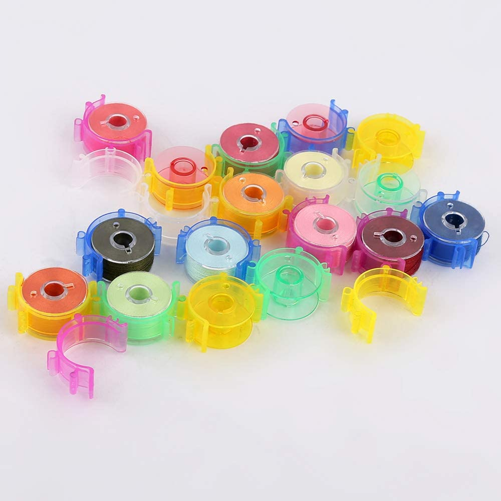 40 pcs/Pack Sewing Bobbin Small Clips Sewing Tool Accessory Color Thread Clips Holder Tool