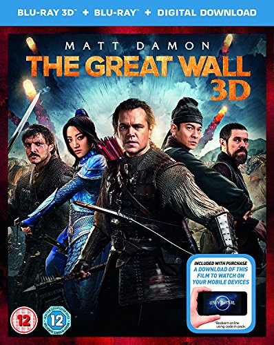 The Great Wall [Blu-ray 3D + Blu-ray]