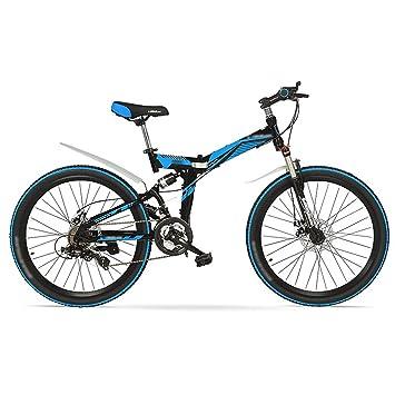 Bici plegable bicicleta de montaña de 24/26 pulgadas puede bloquear la bicicleta de velocidad
