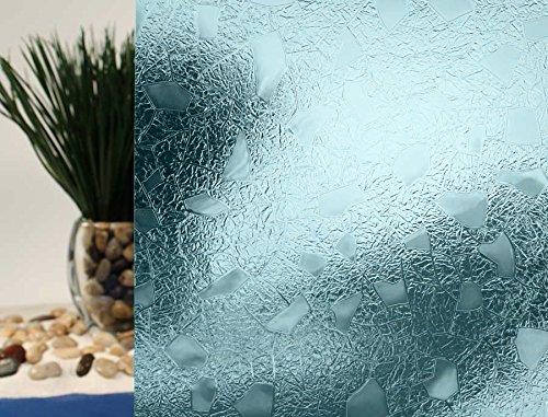 Cut Glass Gems, Decorative, Colored, Privacy, Static Cling Window Film (35