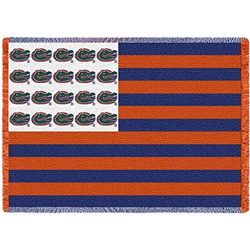 University of Florida Gators Throw Blanket Woven Afghan Tapestry 69 x 48 - Florida Tapestry Throw Woven Gators