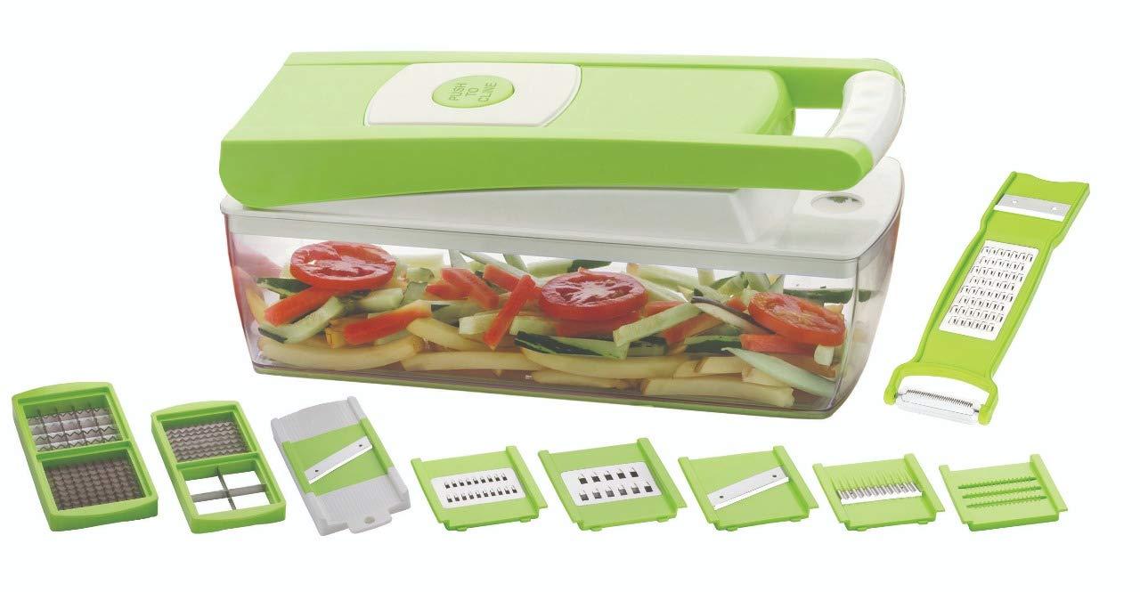 37a7eb9f450f3 Primelife Sazavat Plastic Fruit   Vegetable Chopper 12 in 1