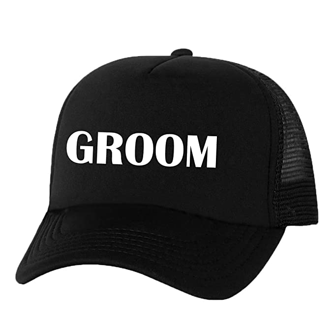 34d41711c57af Groom Truckers Mesh snapback hat in Black - One Size at Amazon Men s  Clothing store