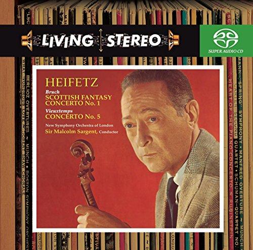 SACD : Jascha Heifetz - Violin Concerto No 1 / Violin Concerto No 5 (Hybrid SACD)