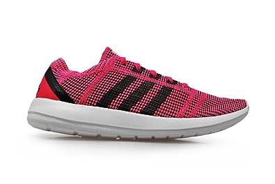 size 40 3ba22 e04a6 adidas Womens - Element Refine Tricot W - Color Rosa Blanco Negro - m18917,  Color Rosa, Talla 42 23 EU Amazon.es Zapatos y complementos