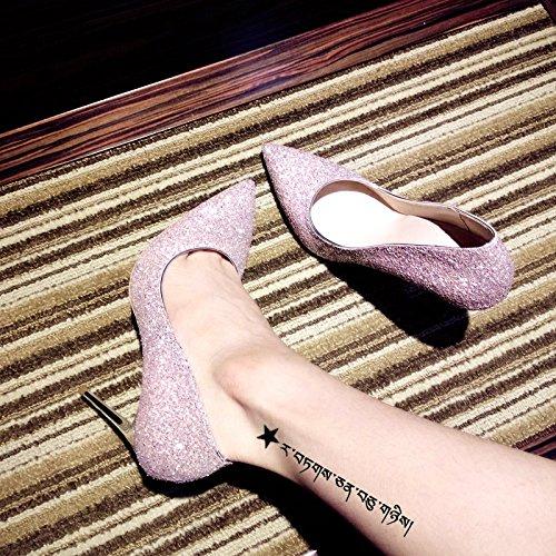 zapatos Qiqi los con acentuados zapatos la de boda escogen mujeres de talones muchachas los rosados muchachas de altos los zapatos Zapatos las de pol boda 40 Corte Xue de Los de boda de las las la 6F1xAdSdwq