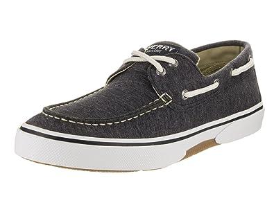 SPERRY Top-Sider Men's Halyard 2I jerzy Charcoal Boat Shoe 8.5 Men US