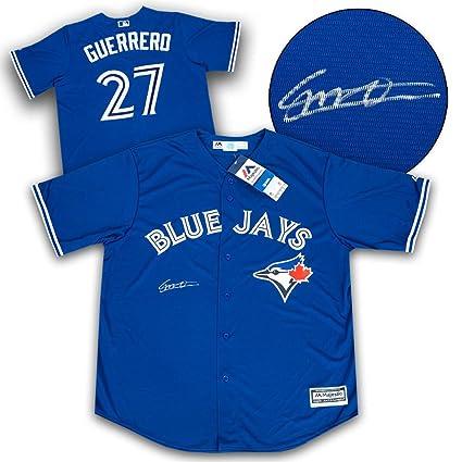 db6784df2 Vladimir Guerrero Jr Toronto Blue Jays Autographed Replica MLB Baseball  Jersey - Autographed MLB Jerseys