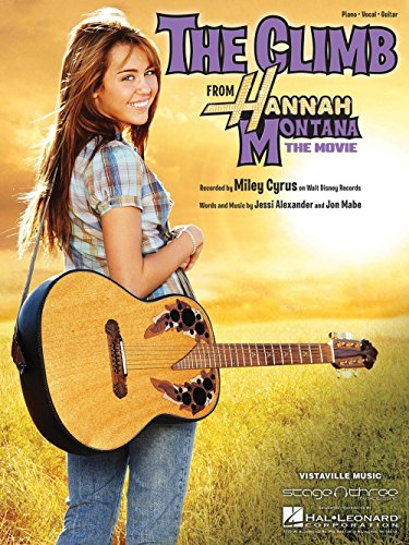 Hal Leonard The Climb by Miley Cyrus arranged for piano, vocal and guitar ()