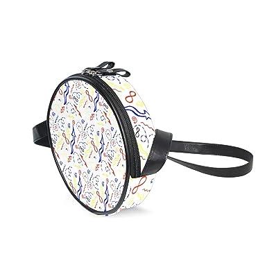 b420c7d33d Crossbody Bag Colorful Math Linear Equations Women's Casual Phone ...