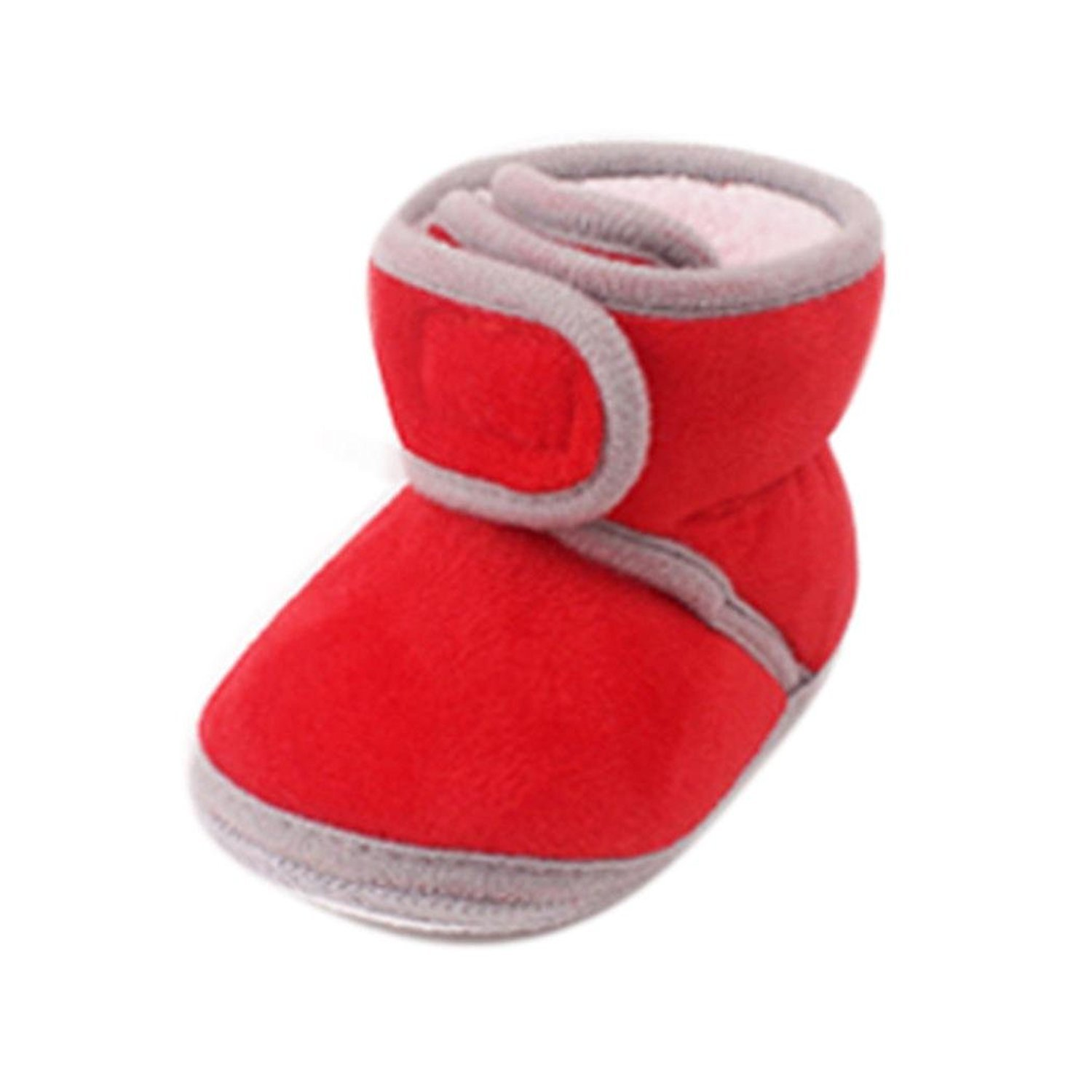 Webla Baby Winter Boots Infant Soft Sole Baby Boys Girls Anti-slip First Walker Shoes