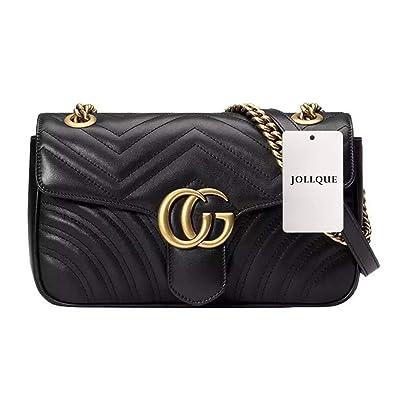 JOLLQUE Women s Leather Shoulder Bag 94e448202816f