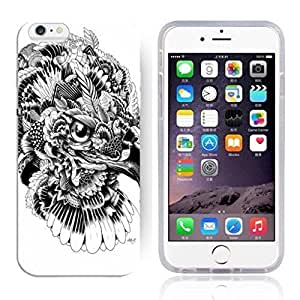 "Animal Art Illustration Pattern HD Durable Hard Plastic Case Cover for iphone 6 Plus(5.5"")"