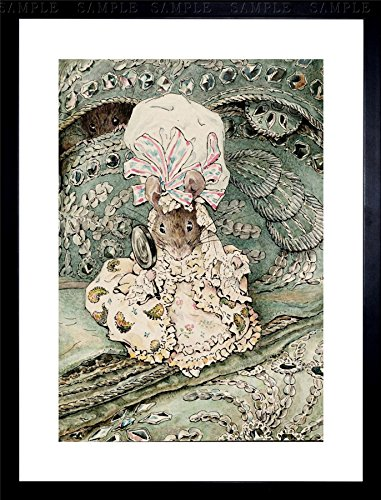 - Helen Beatrix Potter Lady Mouse in Mob Cap Framed Art Print F12X8481