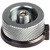 k-outdoor ガス缶 変換 アダプター 変換プラグ ガスボンベ 家庭用/アウトドア用 漏れ防止 アルミ合金