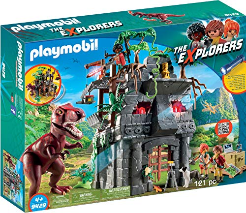 PLAYMOBIL Hidden Temple with T-Rex Building Set from Playmobil