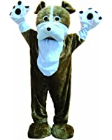 Dress Up America Deluxe Warm Bulldog Mascot Costume