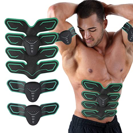 Health Care Smart Modes Intensity Adjustable Abdominal Legs Muscle Stimulator Massager Fitness Training