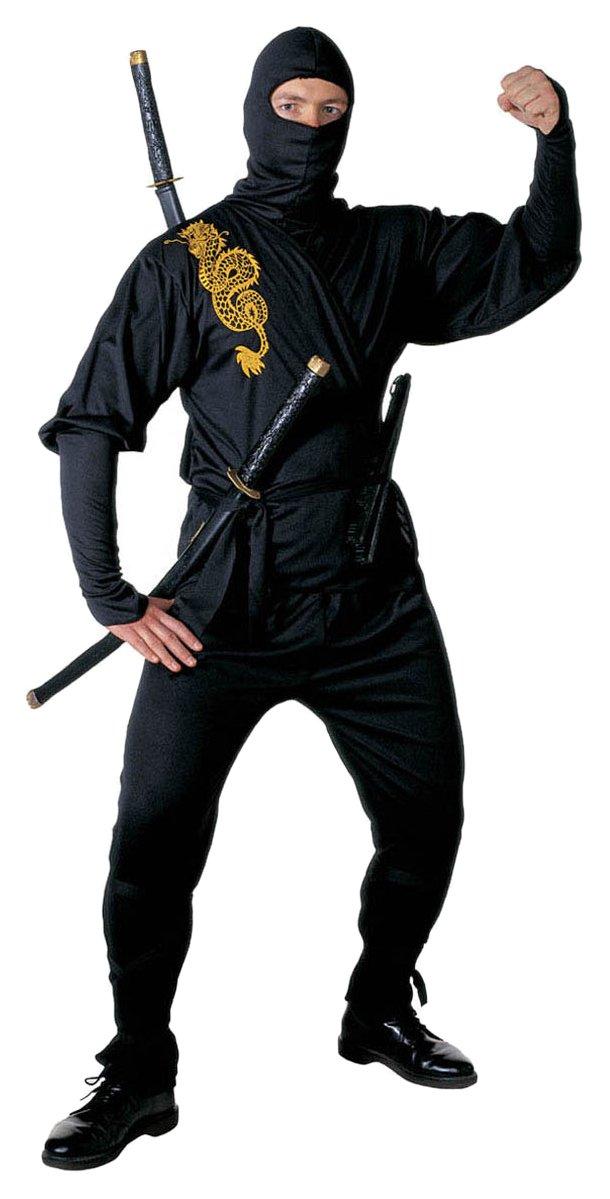WIDMANN Ninja Warrior traje| talla L: Amazon.es: Juguetes y juegos