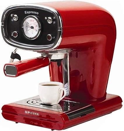 RUIXFCA capuccinatore, Cafetera Espresso,15 Bares, 850WDepósito de ...
