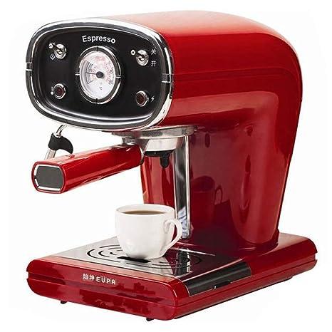 ZHJIUXING KF Fácil de Usar capuccinatore, Cafetera Espresso ...