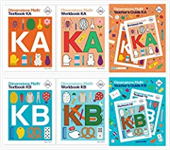 This Dimensions Math Level K Complete Set includes 6 Books: 1. Dimensions Math Textbook KA 9781947226029 2. Dimensions Math Textbook KB 9781947226036 3. Dimensions Math Workbook KA 9781947226166 4. Dimensions Math Workbook KB 9781947226173 5....