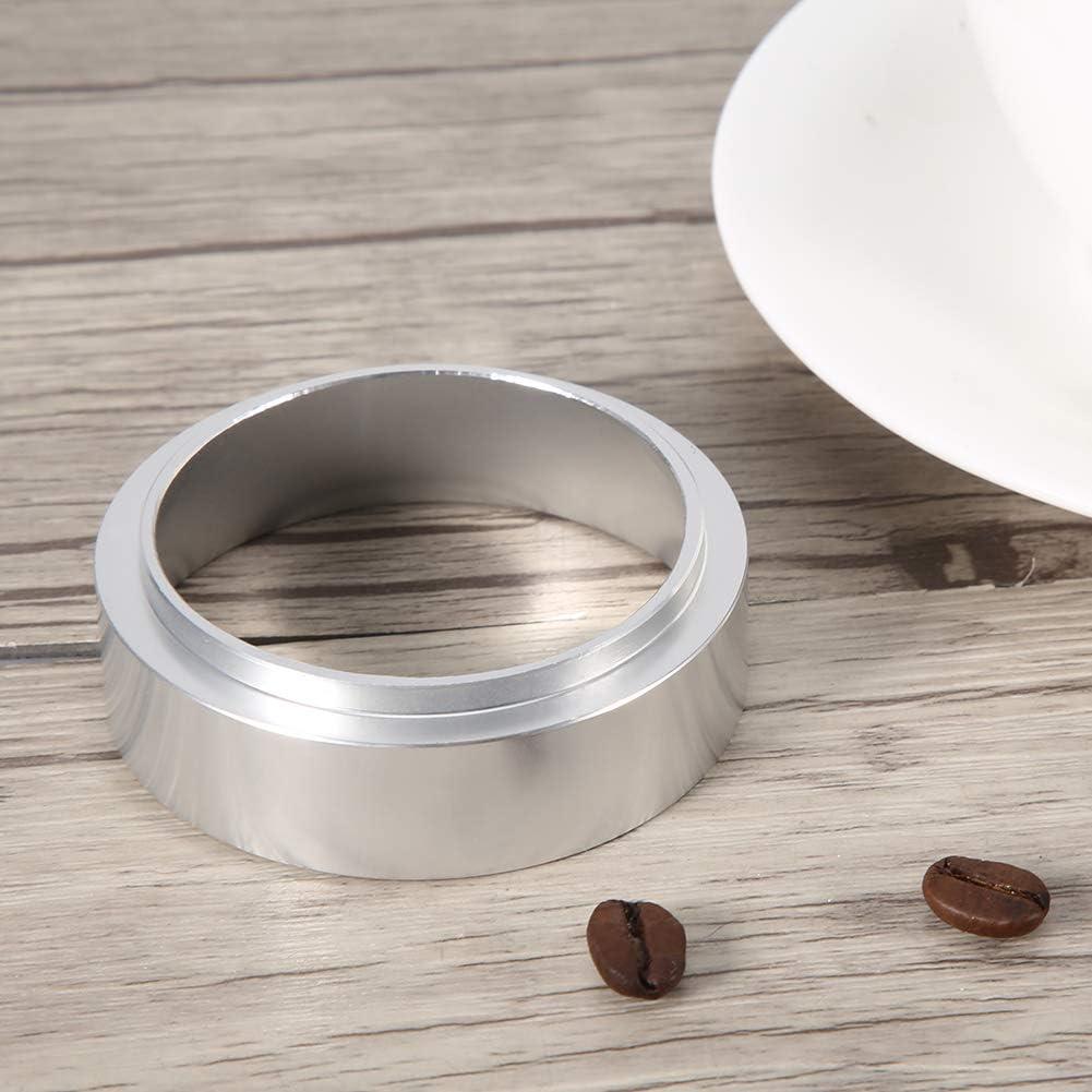 Coffee Dosing Ring Aluminum Coffee Machine Accessories Espresso Funnel Replacement 51mm