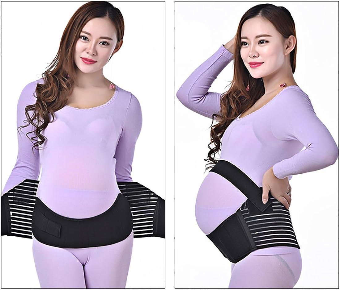 Hisret Maternity Belly Support Belts Pregnancy Waist Back Abdomen Band Fully Adjustable