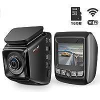 Growfast FHD Car DVR with WiFi and 6-Lane 170 Wide Angle Lens Dash Cam