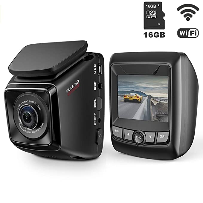 Amazon Dash Cam Fhd 1080p Car Dvr With Wifi And 6 Lane 170