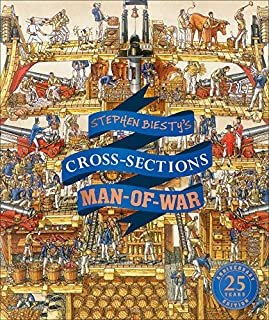 Book Cover: Stephen Biesty's Cross-Sections Man-of-War