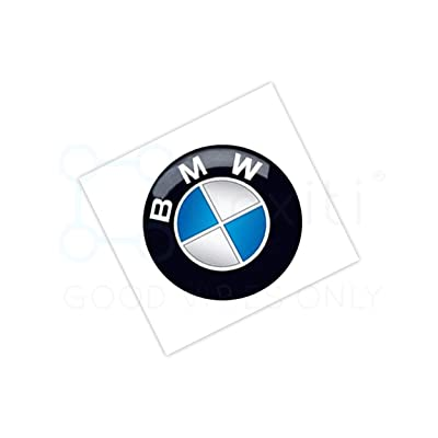 Genuine key emblem sticker 66122155753 - OEM 11mm remote key badge for all BMW models: Automotive