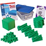 ETA hand2mind Green Foam Base Ten Blocks, Starter Set (Set of 161)