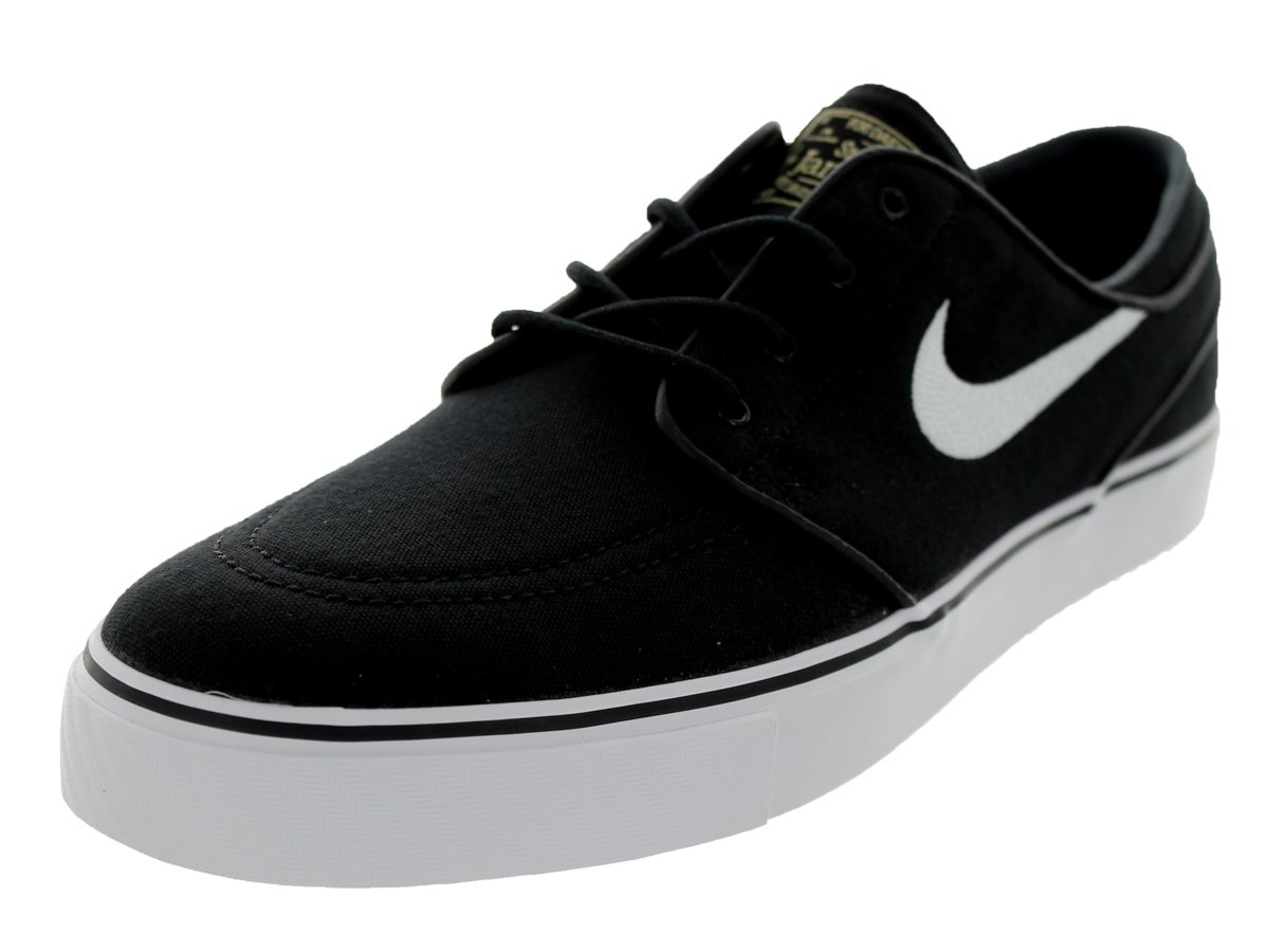 NIKE Men's Zoom Stefan Janoski Skate Shoe B00FW3ZJF6 11 D(M) US|Black/White Gum/Light Brown