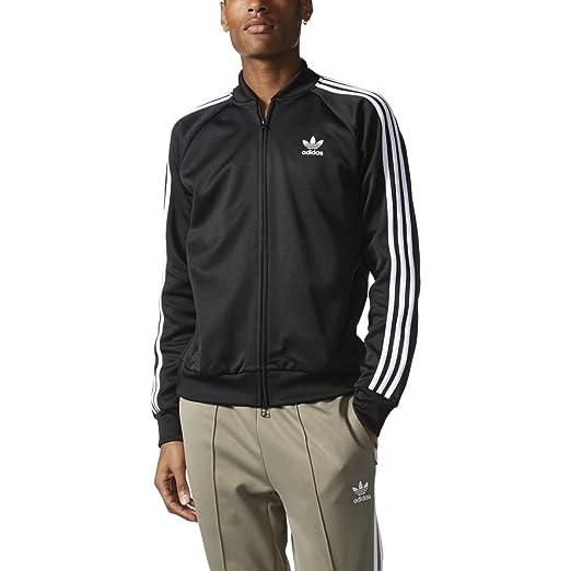2ec6b61ca2d4 Adidas Originals Superstar Relaxed Men s Track Jacket Black bk3612 (Size ...