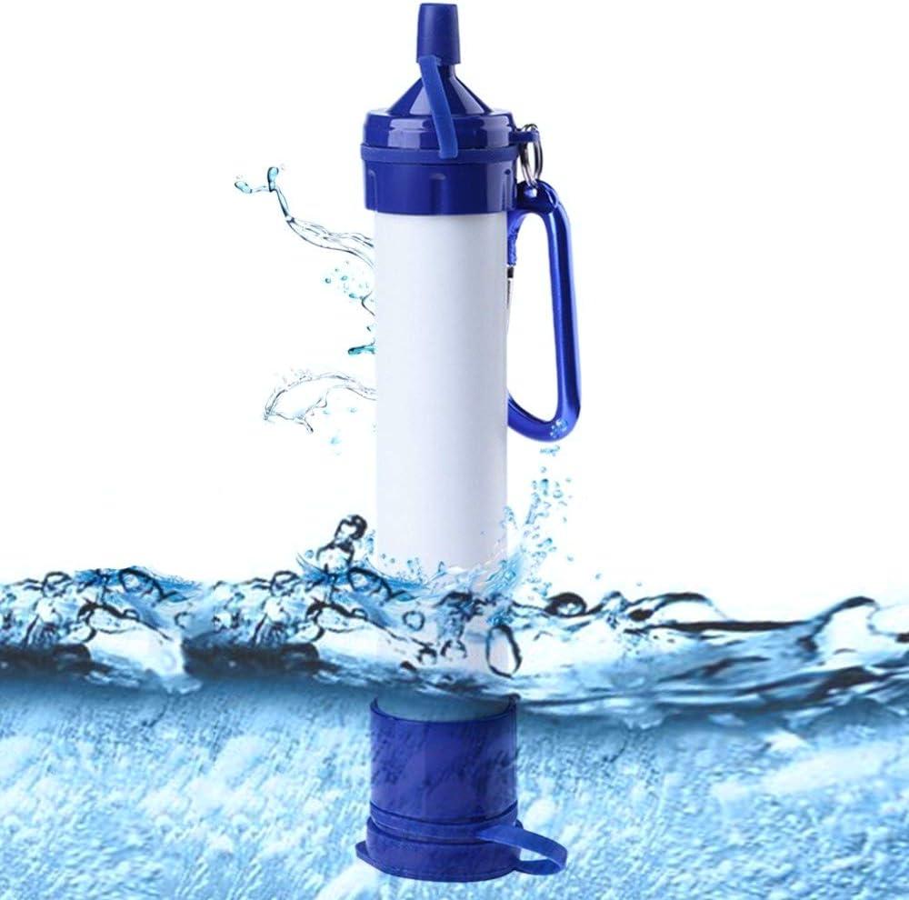 OTENGD Filtro de Agua de Paja Personal Mini Filtración Portátil ...
