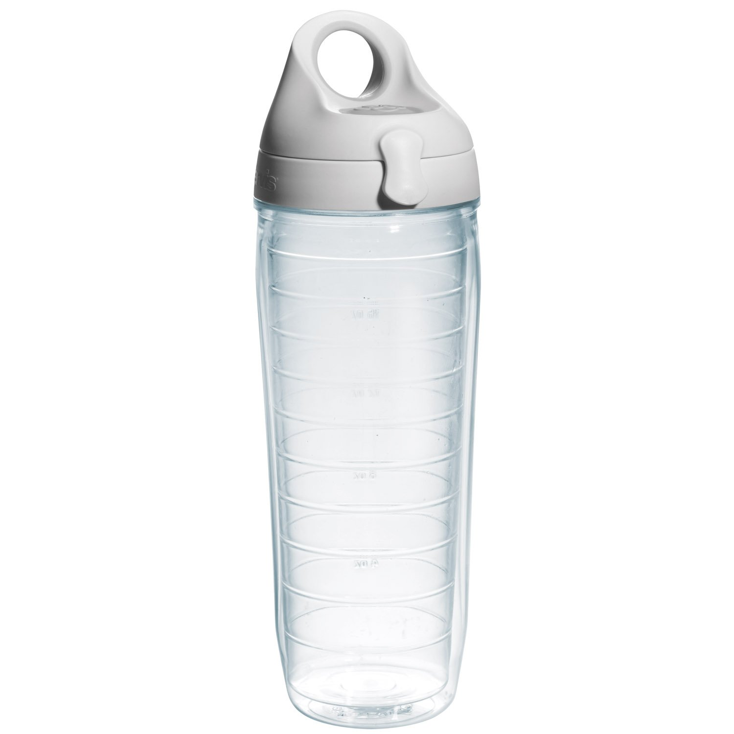 amazon com tervis 24 oz clear water bottle kitchen u0026 dining