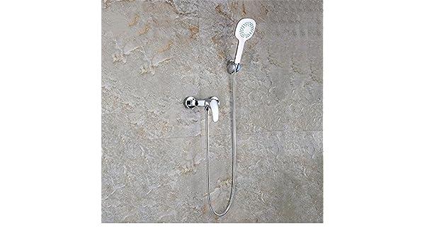 MMYNL Los Accesorios del Baño Ducha termostatica Establecer Sistemas de Ducha y Bañera y Ducha de Cobre de Agua Solar Calentador de Agua Fría y Caliente la ...