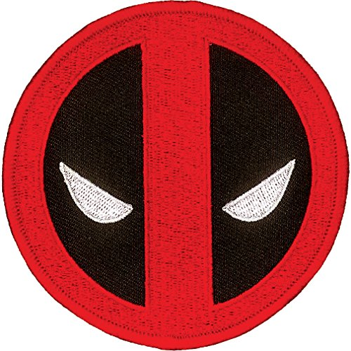 "Ata-Boy Marvel Comics Deadpool Logo 3"" Full Color Iron-On for sale  Delivered anywhere in USA"