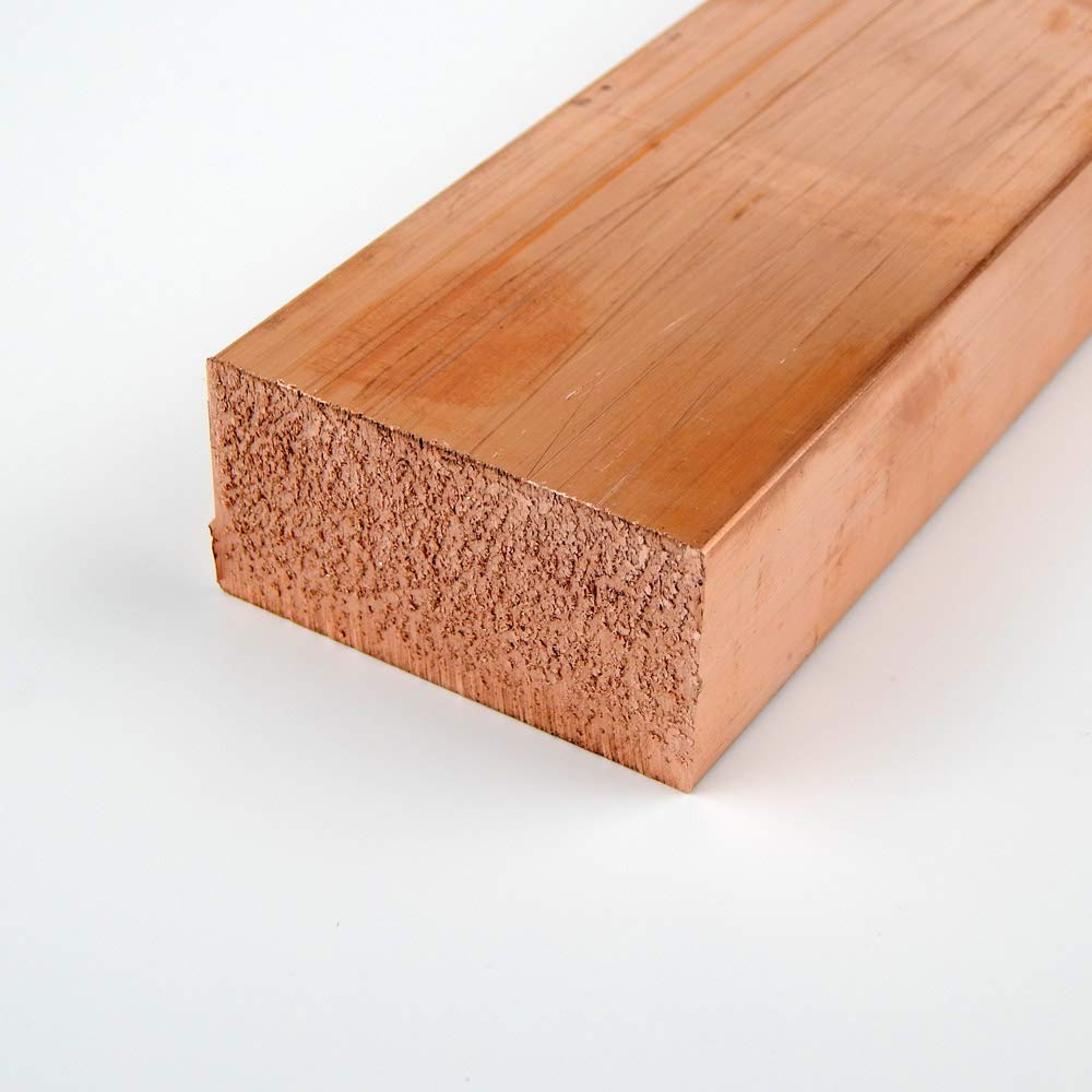 0.125 x 0.5 Copper Rectangle Bar 110-H02 12.0