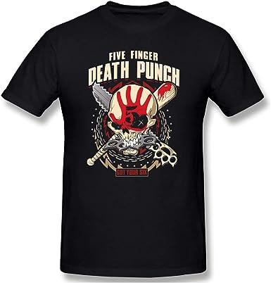 FIVE FINGER DEATH PUNCH T-shirt Las Vegas Nevada Heavy Metal Tee Men  New